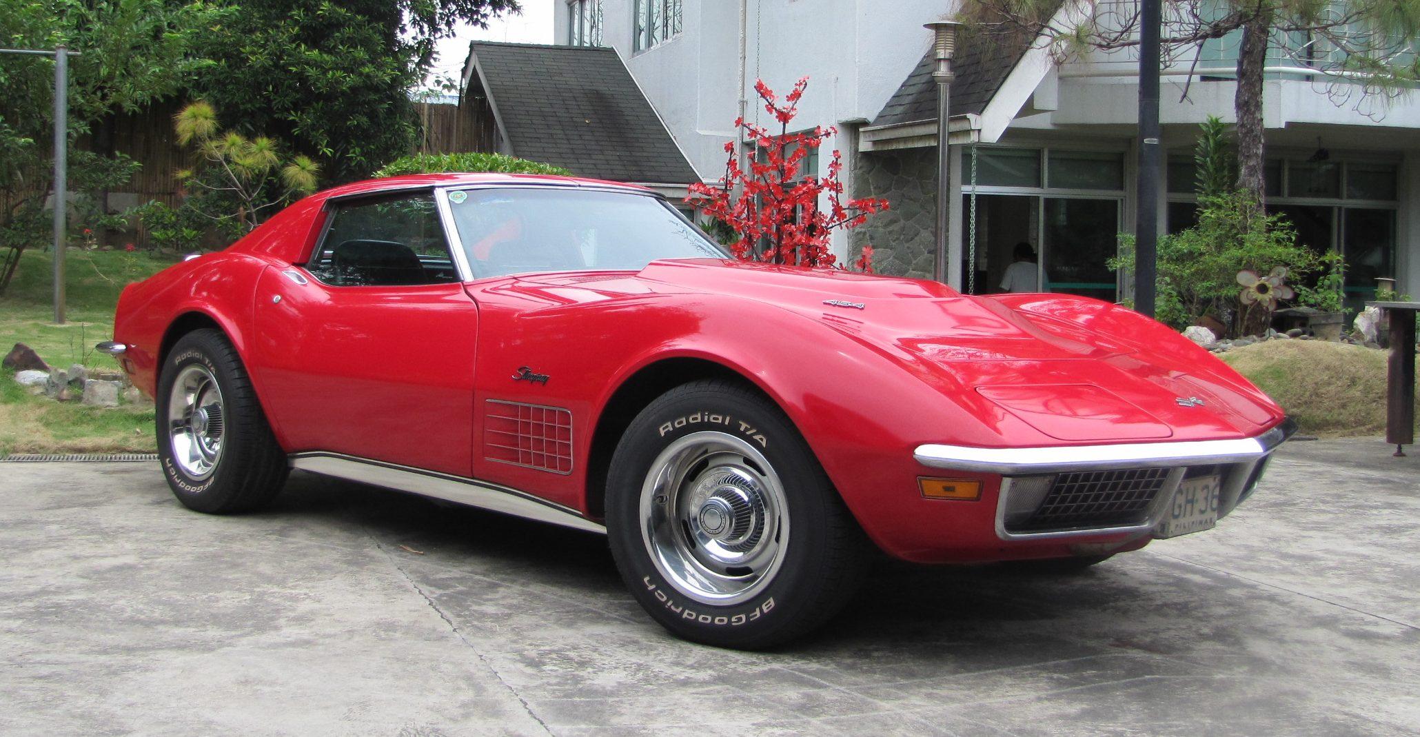 THE AMERICAN SPORTS CAR: A 1970 454 Corvette | Street Talk ...