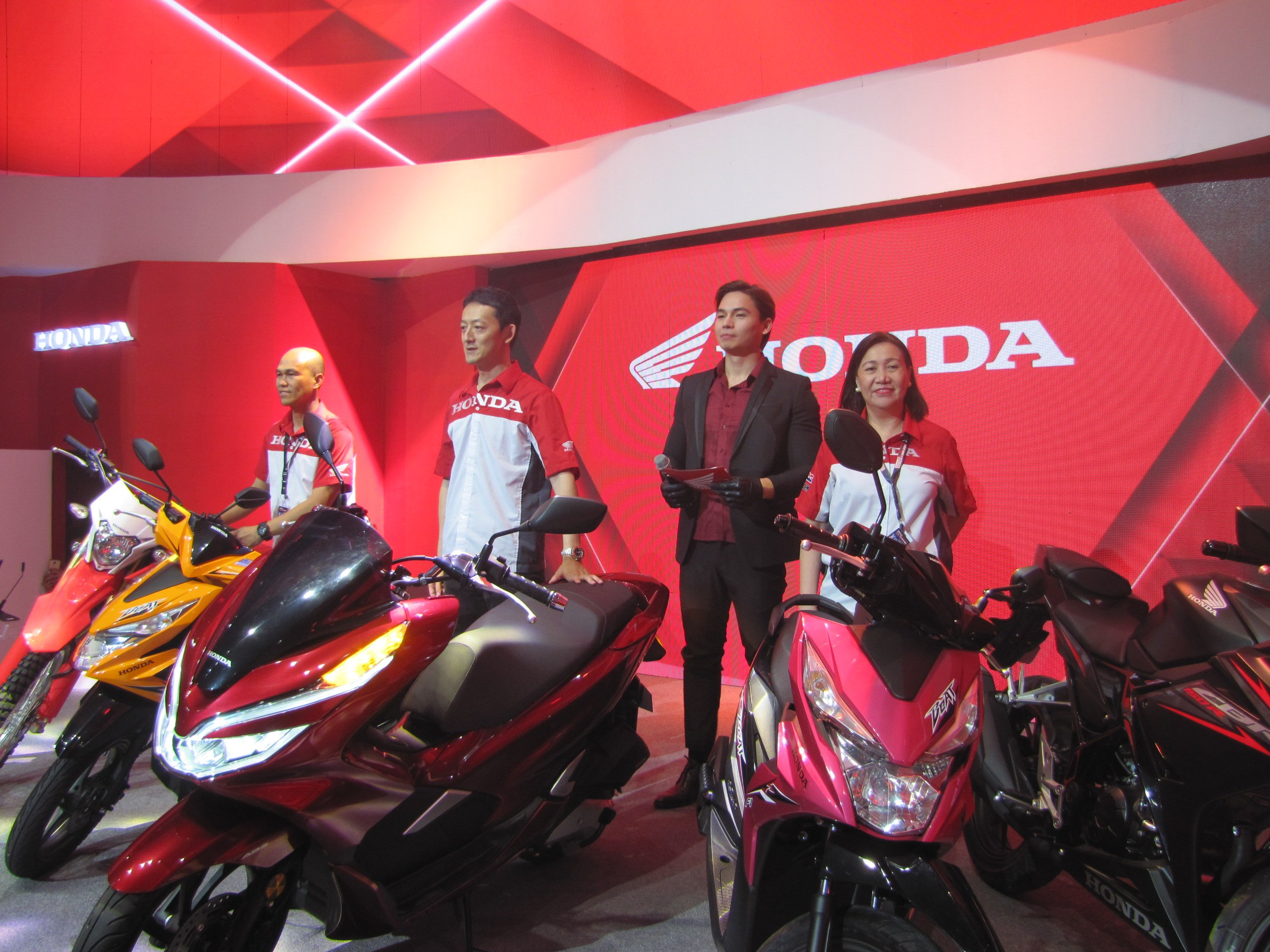 Honda Philippines Inc HPI The Number One Motorcycle Manufacturer In Brought Together Enthusiasts As It Unveils Its New