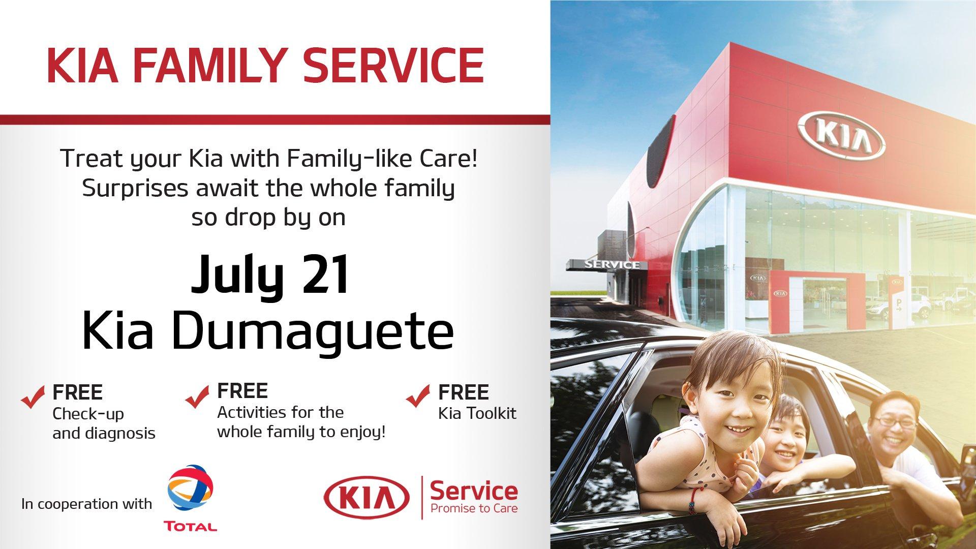 Kia Family Service Drive To Surprise Takes Stopover To Dumaguete